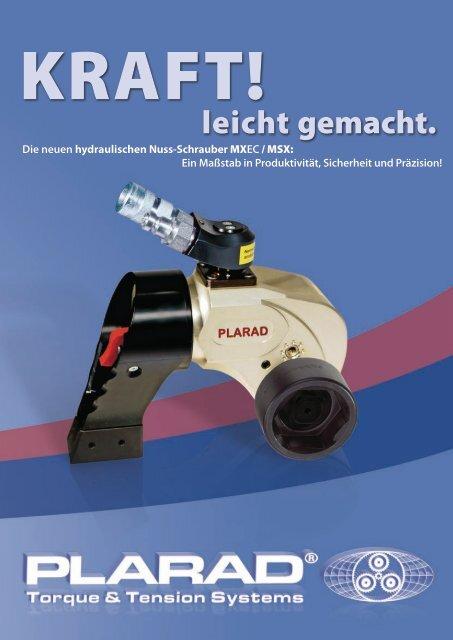 MSX Hydraulische Nuss-Schrauber - Plarad