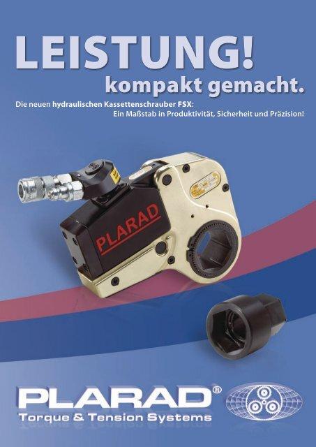 FSX Hydraulische Kassettenschrauber - Plarad