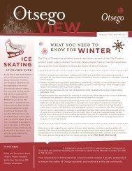 Winter 2012 - City of Otsego, Minnesota
