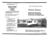 Mobile Homes - Eastern Interlake Planning District