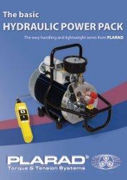 X1/X2 Hydraulic power pack -  Plarad