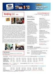 Beijing (1) 2011 - CESA Languages