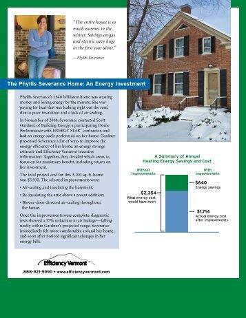Efficiency VT Energy Improvement Case Study ... - VTDigger.org