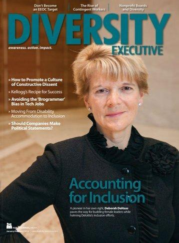 NOD's Meg O'Connell Speaks to DiversityExecutive Magazine