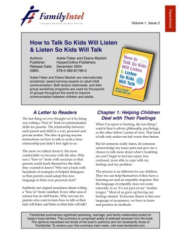 How to Talk so Kids Will Listen - Rc.vc