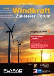 Windkraft NRW: Plarad verbindet Politik, Expertenwissen, Praxis