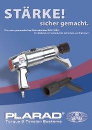 DPM/DPA Pneumatische Drehschrauber - Plarad