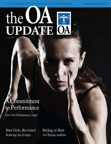 OA Update - Volume 1, Issue 3 (2.84 MB PDF File) - Orthopaedic ...