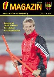 Fußball in Baden und Württemberg - Badischer Fußballverband