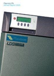 205524 Annual Report pp1-10.qxd - Plasmon