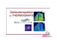 Gebäudeinspektion mit THERMOGRAFIE