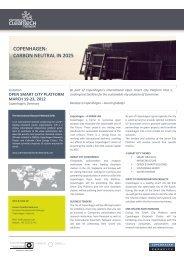 COPENHAGEN: CARBON NEUTRAL IN 2025 - Eco World Styria