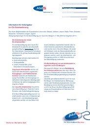 Information für Arbeitgeber zur EU-Osterweiterung