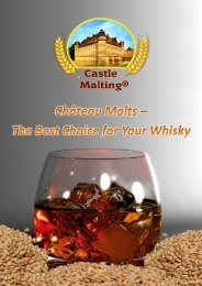Features - Castle Malting