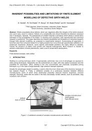 DoR 2010 Template - 5th International Conference on Sustainable ...