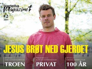 JESUS BRØT NED GJERDET