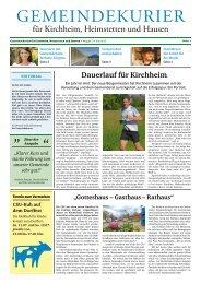 Gemeindekurier für Kirchheim, Heimstetten und Hausen