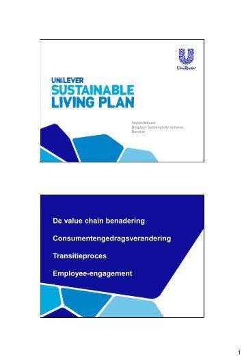 Anniek Mauser (Unilever) - Duurzaam Organiseren Doen