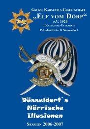 Sessionsheft 2007 - KG Elf vom Doerp
