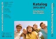 Schulbuchkatalog 2012-2013