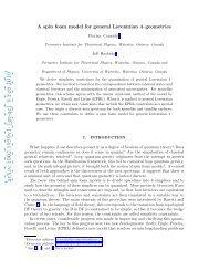 arXiv:1002.1959v1 [gr-qc] 9 Feb 2010