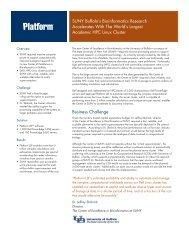 The State University of New York Case Study - Platform Computing