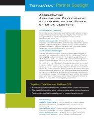 TotalView® - Platform Computing