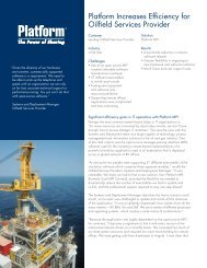 Platform Increases Efficiency for Oilfield Services Provider