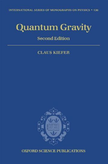 Kiefer C. Quantum gravity