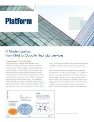 IT Modernization: From Grid to Cloud in Financial Services