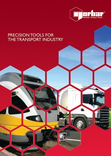 PRECISION TOOLS FOR THE TRANSPORT INDUSTRY
