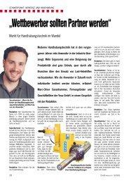 Wettbewerber sollten Partner werden: Markt für ... - VESA GmbH
