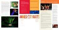 Issue 3, Fall 2009 - Inner-City Arts