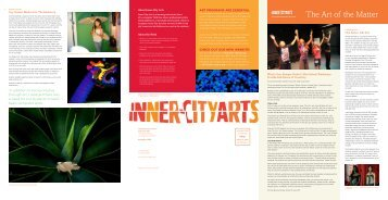 Issue 3, Fall 2009 - Inner-City Arts
