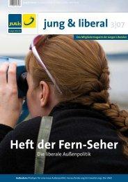 jung & liberal - Junge Liberale Kreisverband Rhein-Sieg