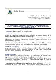Avviso pubblico - Comune di Mesagne