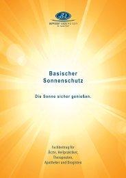 Basischer Sonnenschutz