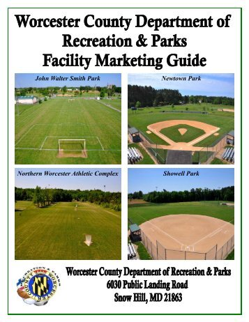 Facility Marketing Guide - Worcester County