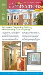 Renovated Corpening Building Almost Ready for ... - Arbor Acres