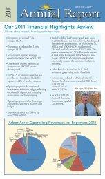 2011 ARBOR ACRES Annual Report