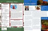 Christmas News - Arbor Acres
