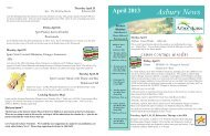 Asbury News - Arbor Acres