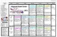Fitzgerald Health Center 201 2013 - Arbor Acres