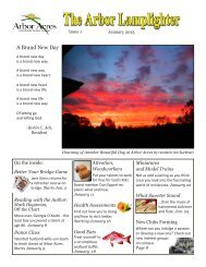 A Brand New Day - Arbor Acres