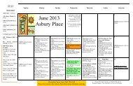 June 2013 Asbury Place - Arbor Acres