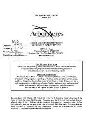 Arbor res - Arbor Acres