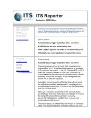 ITS Reporter - September 2012 - ITS Global
