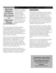 REVERSE osmosis (RO) is becoming a common home ... - Bay County