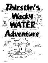 Thirstin's Wacky Water Adventure Activity Book