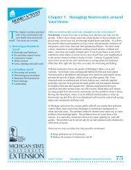 Managing Stormwater Around Your Home - Michigan Water ...